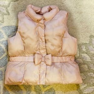 Baby Puffer vest in pink